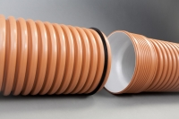 Гофрированная канализационная труба Икапласт SN 16 160x139 мм