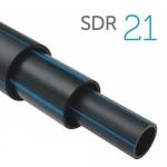 Труба ПЭ-100 SDR21 для водоснабжения