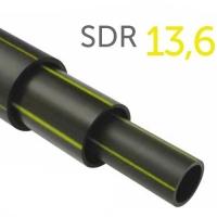 Труба полиэтиленовая ПНД газовая ПЭ-100 SDR 13,6 280x20,6 мм